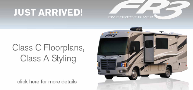 Forest River FR3 Just Arrived
