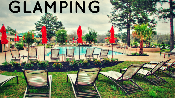 GLAMPING AT AN RV RESORT