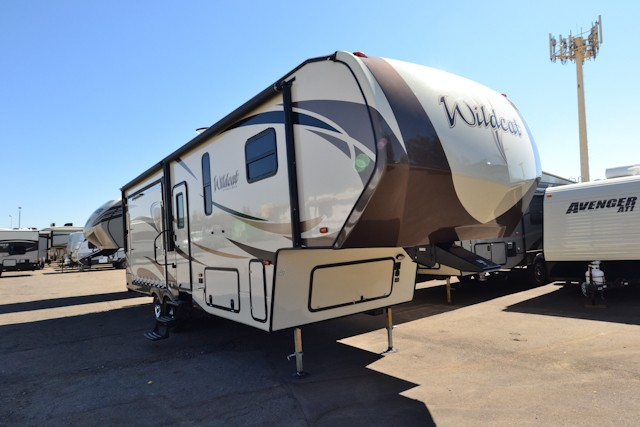 2018 FOREST RIVER WILDCAT 29RKP